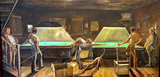 Ernie Barnes Artist Heritage Gallery