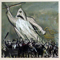 William Gropper: KKK