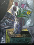 Carlos Almaraz: Still Life With Tulips
