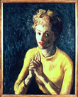 Moses Soyer: Portrait of a Ballerina